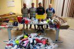 Merce contraffatta al mercatino di Pian del Lago a Caltanissetta: sequestri e denunce