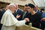 Incontro con Papa Francesco per Katy Perry, Orlando Bloom e Peter Gabriel