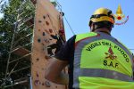 """A Palermo bambini vigili del fuoco per un giorno: le foto della """"Pompieropoli"""""""
