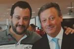 Matteo Salvini e Salvino Caputo