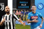 Sfida scudetto Juve - Napoli: parlano le leggende del calcio