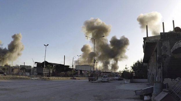 attacco chimico in siria, Donald Trump, Sicilia, Mondo