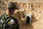Gaza, scoperto e distrutto un nuovo tunnel nascosto di Hamas
