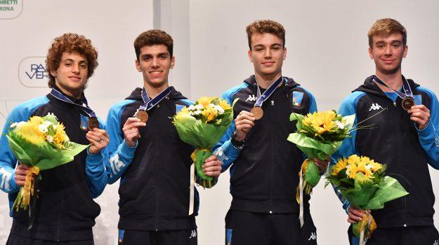 scherma, squadra maschile under 20 spada, Gianpaolo Buzzacchino, Catania, Sport