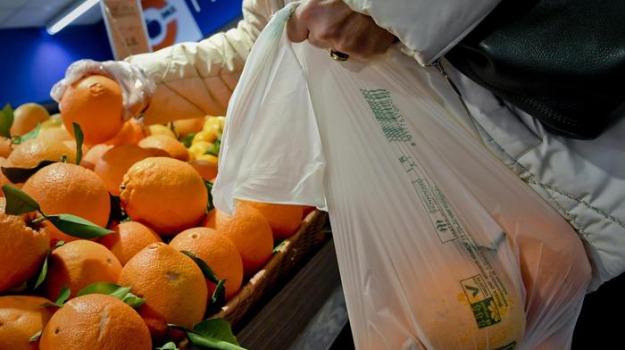 sacchetti bio da casa, sacchetti per frutta supermercato, Sicilia, Economia
