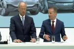 Herbert Diess (a destra) nuovo CEO Gruppo Volkswagen