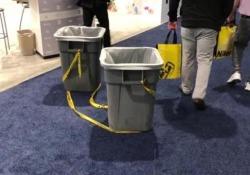 Infiltrazioni di acqua nei padiglioni che ospitano il Consumer Electronics Show 2018