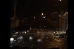 Strade allagate a Palermo: le immagini dei rifiuti trascinati dalla pioggia