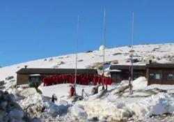 Tra i ghiacci del Polo Sud