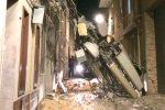 Forte vento a Castelvetrano, crolla un ripetitore: nessun ferito