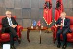 Jean-Claude Juncker in Albania