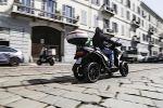 Lo scooter a quattro ruote Qooder della Quadro Vehicles si guida con la patente B