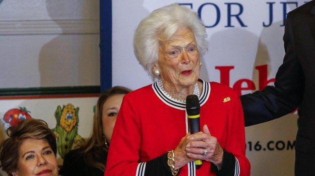 Barbara Bush, morta barbaba bush, Sicilia, Mondo