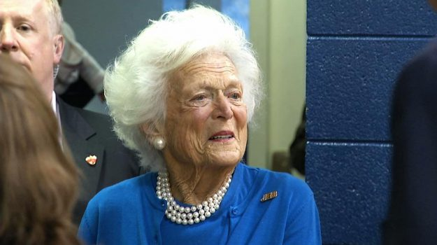 ex first lady, Stati Uniti, Barbara Bush, George W. Bush, Sicilia, Mondo