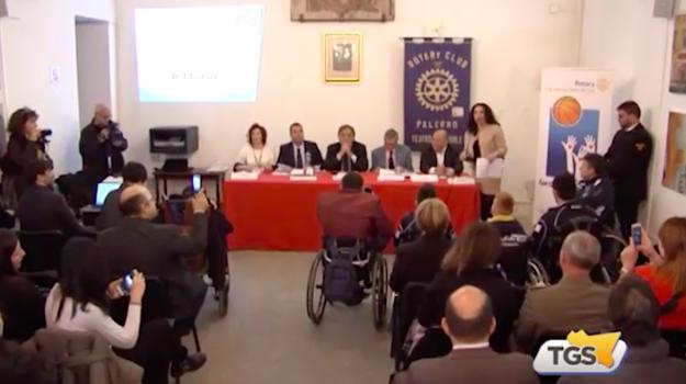 Palermo, una scuola di minibasket in carrozzina per la Sicilia: via al progetto