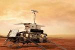 Rappresentazione artistica del rover della missione ExoMars 2020 (fonte: ESA)