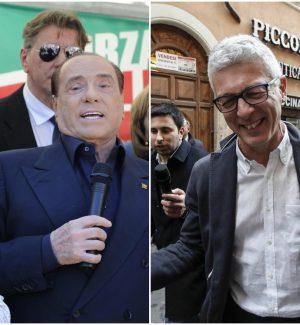Silvio Berlusconi (Fi) e Nicola Morra (M5s)