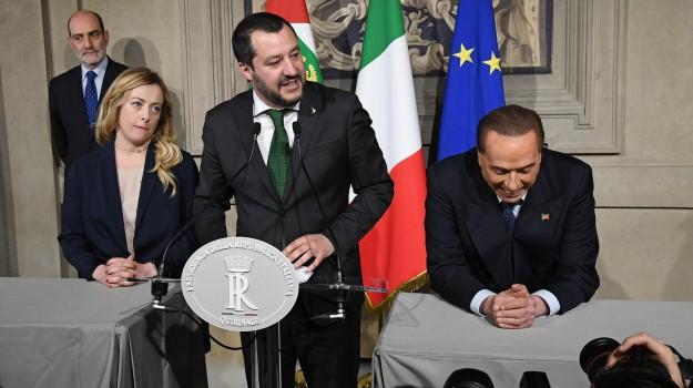 consultazioni governo, Lega, m5s, Luigi Di Maio, Matteo Salvini, Silvio Berlusconi, Sicilia, Politica