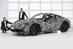 La nuova generazione della Porsche 911, in arrivo in autunno