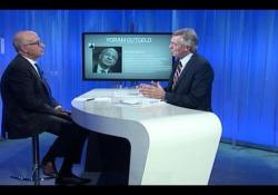 Yoram Gutgeld, economista e commissario alla spending review, ospite della diretta tv «Crescere Italia»