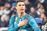 Real Madrid's Cristiano Ronaldo jubilates after scoring the goal during the UEFA Champions League quarter finals first leg soccer match Juventus FC vs Real Madrid CF at Allianz stadium in Turin, Italy, 03 April 2018.ANSA/ANDREA DI MARCO