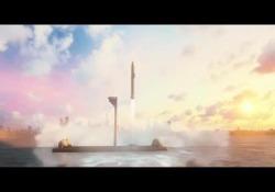 Il progetto del ceo di Tesla e Space-X: un razzo in grado di viaggiare a 27mila chilometri orari