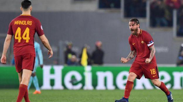 Roma - Liverpool, Sorteggio Champions, Daniele De Rossi, Sicilia, Sport