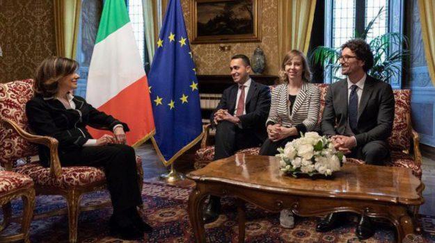 accordo m5s lega, consultazioni, consultazioni governo, Luigi Di Maio, Matteo Salvini, Silvio Berlusconi, Sicilia, Politica