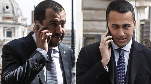 accordo m5s lega, Governo M5s Lega, nuovo governo, Luigi Di Maio, Matteo Salvini, Sicilia, Politica