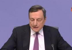 Lo ha detto il presidente della Bce durante una conferenza stampa a Francoforte