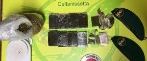 Nascondeva la droga nella lavatrice, donna arrestata a Caltanissetta