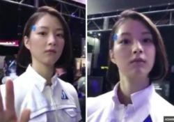 Al Tokyo Game Show presentato un androide davvero inquietante