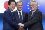 Ue sigla accordo di partenariato economico col Giappone