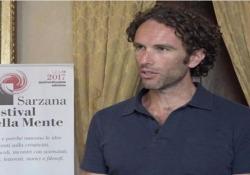 L'autore de «II buio al crocevia» al Festival di Sarzana