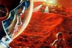 Potrebbe essere 'rosa' la conquista di Marte (fonte: NASA/Paul DiMare)