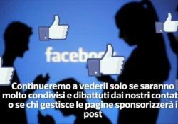 La novità annunciata da Mark Zuckerbeg: «Più spazio alle interazioni significative». Vedremo sempre meno post delle pagine