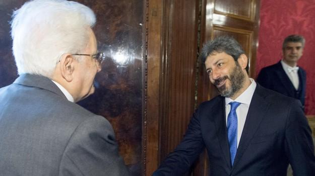consultazioni governo, mandato a fico, nuovo governo, Roberto Fico, Sergio Mattarella, Sicilia, Politica
