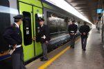 Rissa a bordo di un treno: tre arresti a Messina