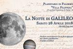 """Palermo, Villa Filippina: torna """"La notte di Galileo"""", con documentari e osservazioni dell'universo"""