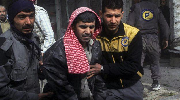 attacco chimico in siria, Sicilia, Mondo