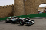 Gp folle in Azerbaigian tra safety car e forature: vince Hamilton, Vettel solo quarto