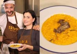 Il risotto giallo con midollo dello chef Diego Rossi