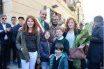 Inaugurata a Ravanusa una statua dedicata a Salvatore Lauricella