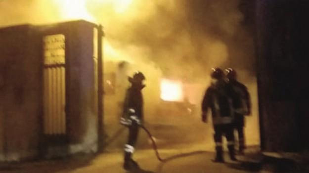 incendio ambulanza favara, Agrigento, Cronaca