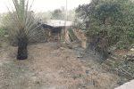 Incendio a Belpasso, distrutti i locali di una ex azienda tessile