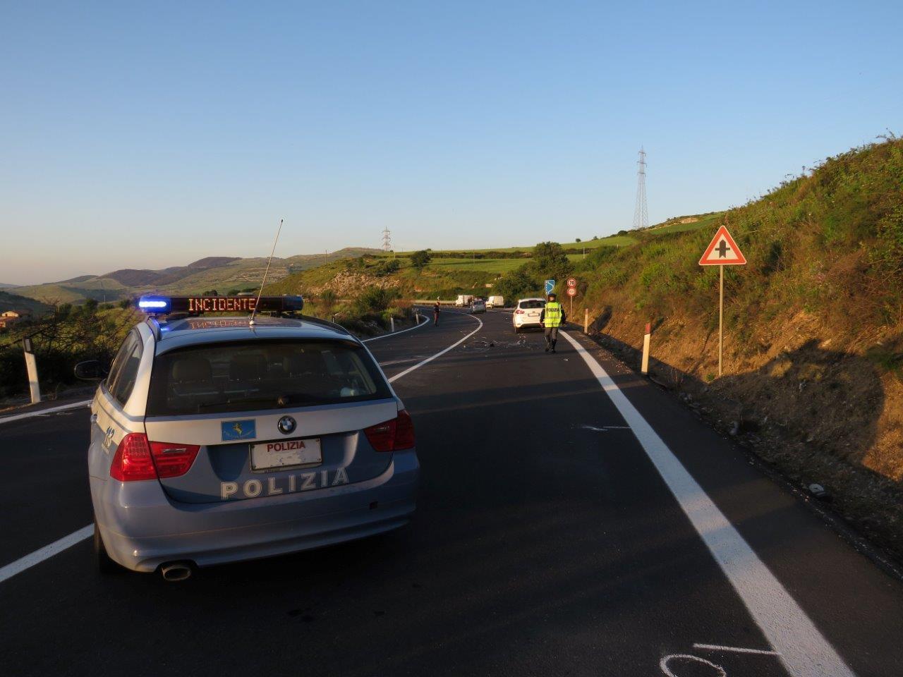 E' un motociclista di Ragusa la vittima dell'incidente sulla Ragusa - Catania