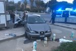 Paura e feriti a Palermo in un incidente, le foto dal Foro Italico