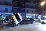 Incidente a Palermo, cinque i feriti nello scontro tra un'ambulanza e due auto