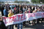 Una protesta all'Italtel di Carini - Foto Archivio