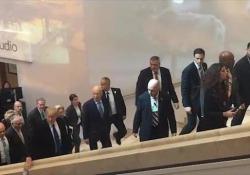 Il primo giorno di colloqui incontrerà il primo ministro inglese Theresa May e quello israeliano Netanyahu